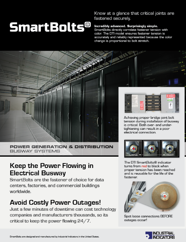 Power Generation & Distribution - SmartBolts Keep the Power Flowing | SmartBolts.com
