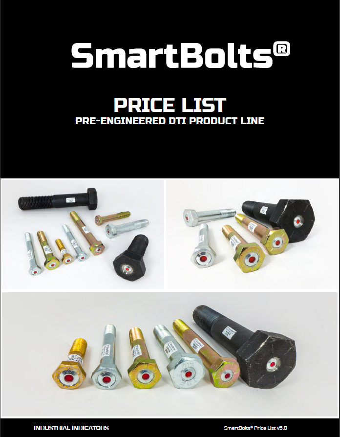 SmartBolts Price List | SmartBolts.com