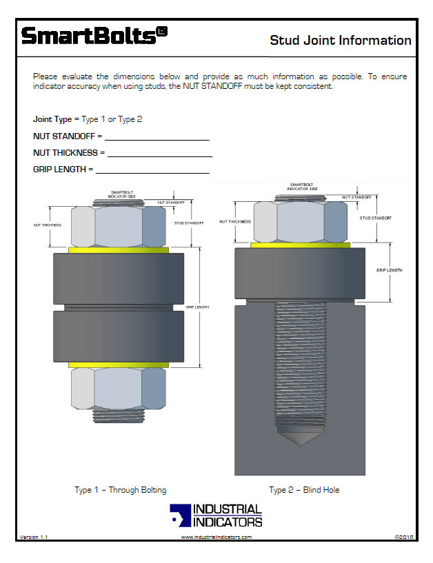 Stud Bolting Reference | SmartBolts.com