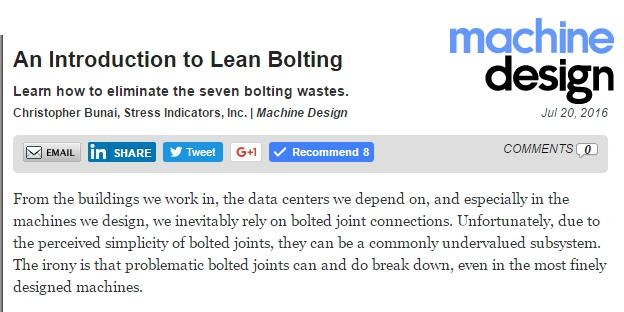 lean bolting article