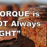 Torque is Not Always Tight